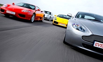 Driving Experience with Up to Four Supercars at Everyman Racing