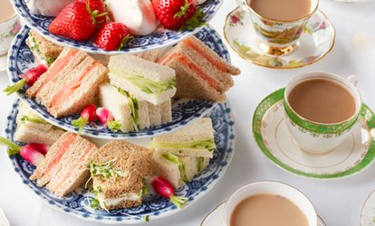 Afternoon Tea for Two or Four at Mom'n'co. Cakes (Up to 60% Off)