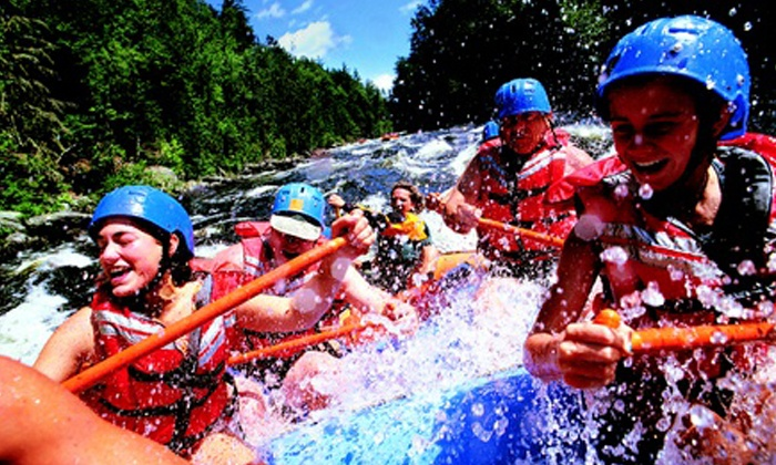 Canadian Rockies Adventure Centre - Morley: $55 for a Rafting Trip on the Kananaskis River from Canadian Rockies Adventure Centre ($110 Value)