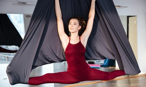 Gold's Gym: Six or 12 Pilates or Aerial Yoga Classes at Gold's Gym (Up to 59% Off)