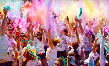 Colorful 5K Race Entry for One or Two at Run or Dye on March 15 (Up to $90 Value)