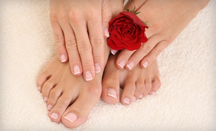Spa Herbal Manicure and Pedicure (a $75 value) - TEAL in Ottawa