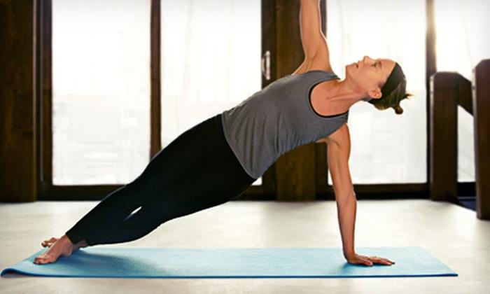 Purpose Yoga - Fairborn: 8 or 12 Yoga Classes at Purpose Yoga (Up to 64% Off)