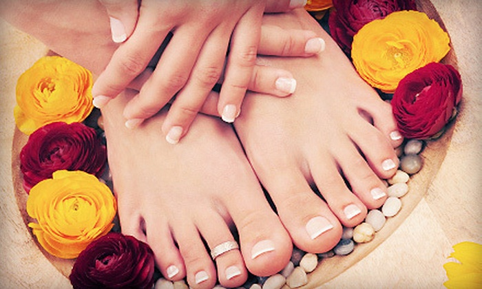 The Beauty Clinic MedSpa - Las Colinas: One, Two, or Three Classic Mani-Pedis at The Beauty Clinic MedSpa (Up to 54% Off)