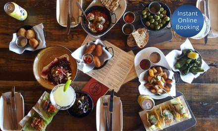 $35 to Spend on Food and Drinks for Two People at Jah Bar