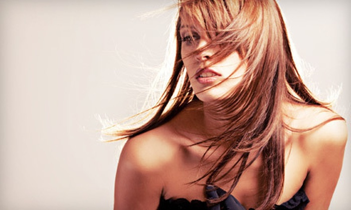Metro Salon - Multiple Locations: Haircut with Blow-Dry and Optional Single-Process Color, Partial or Full Highlights at Metro Salon (Up to 70% Off)