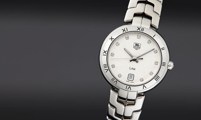 Tag Heuer: $2,499 for a Tag Heuer Diamond Link Women's Watch ($3,600 List Price). Free Shipping and Returns.