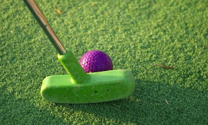 Hawaiian Rumble Golf - Southwest Orange: Miniature Golf for Two or Four at Hawaiian Rumble (Up to 58% Off)