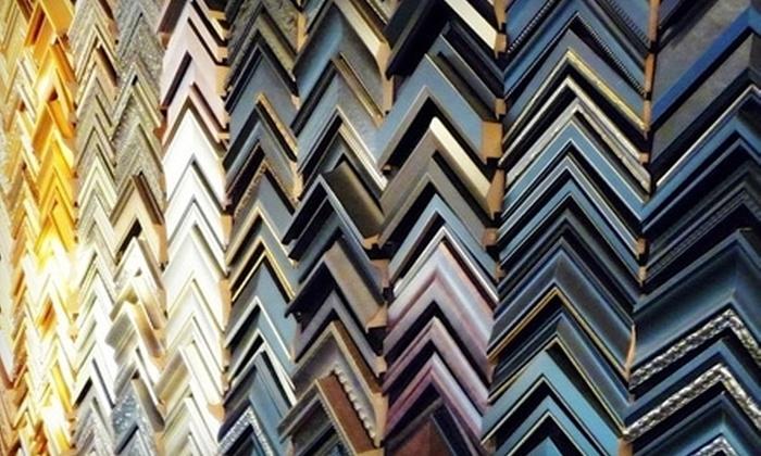 Middleton Art & Framing - Meadows: $49 for $110 Worth of Custom Framing at Middleton Art & Framing