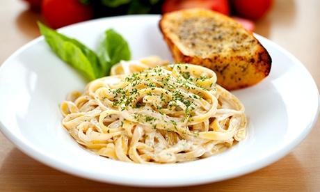 Menú italiano para 2 o 4 con entrante, principal, postre y bebida desde 19,90 € en Zdaura Trattoria Bolognese