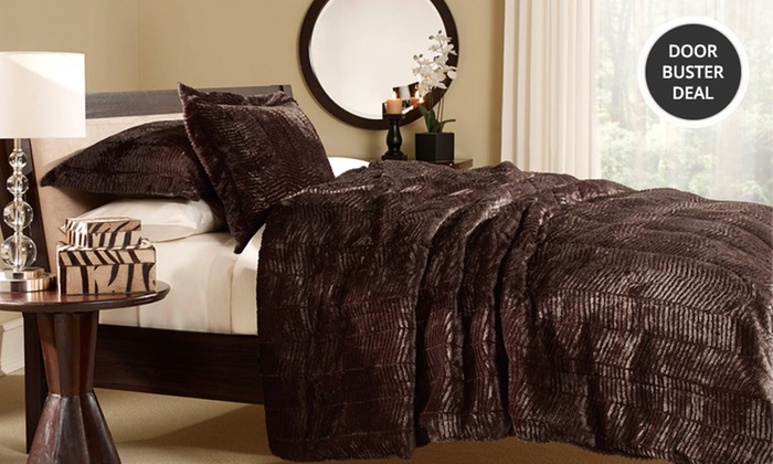Essentially Home Living Faux-Tiger-Fur Comforter Sets: Essentially Home Living Faux-Tiger-Fur Comforter Set. Multiple Sizes from $39.99–$59.99. Free Returns.