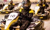 Absolutely Karting Basingstoke - Absolutely Karting Basingstoke: 30-Minute Karting Experience with Unlimited Laps and Pizza for Two, Four or Six at Absolutely Karting Basingstoke