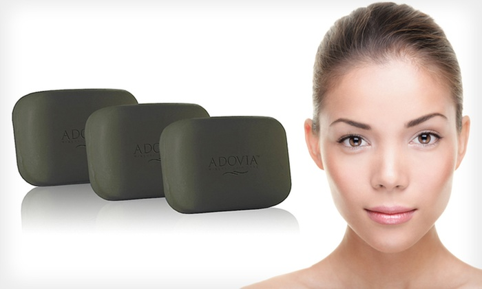 Three Bars of Adovia Dead Sea Mud Soap: $17 for Three Bars of Adovia Healing Dead Sea Mud Soap ($33 List Price). Free Shipping.