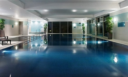 Spa Day with Lunch or Afternoon Tea and Optional Treatment for One or Two at Crowne Plaza Marlow