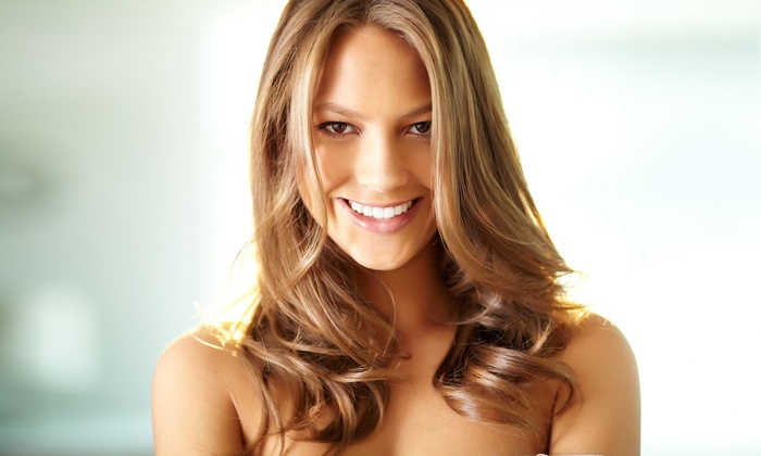 Salon V - Washington: One Haircut and Highlights Package at Salon V (Up to 53% Off)