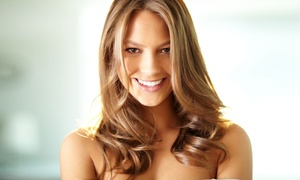 Bloom Salon & Spa: Haircut with Optional Partial Highlights at Bloom Salon & Spa (Up to 52% Off)