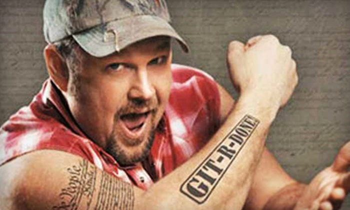 Larry the Cable Guy - Schottenstein Center: Larry the Cable Guy Live Performance at the Schottenstein Center on Friday, October 5, at 8 p.m. (Up to 52% Off)