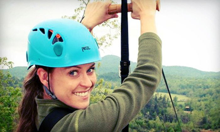 ZipNTime - Helen: Zipline Tour for One or Two at ZipNTime (Up to 51% Off)