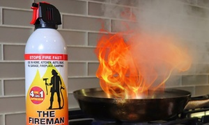 The Fireman Multi-Purpose Fire Extinguishing Suppressant Spray