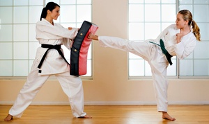 Ernie's American Martial Arts Center: $59 for 1 Month of Martial-Arts Classes and Uniform at Ernie's American Martial Arts Center ($135 Value)