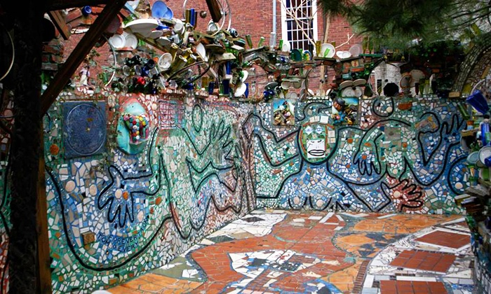 Philadelphia's Magic Gardens - Washington Square West: Guided Tour and Magnet Souvenirs for Two or Four at Philadelphia's Magic Gardens (Up to 54% Off)