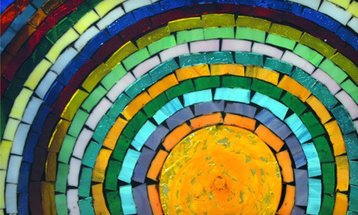 Ocean Stained Glass - Seal Beach: $30 for a Beginning Glass Mosaic-Making Class at Ocean Stained Glass ($60 Value)
