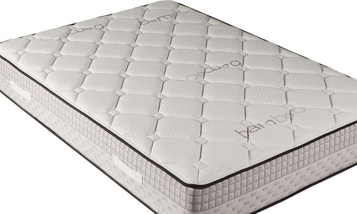 matelas m moire en bambou 26cm groupon. Black Bedroom Furniture Sets. Home Design Ideas