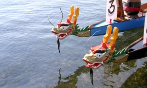Alkame Dragon Boat Services: CC$39 for Four Dragon Boat Experiences for One Person at Alkame Dragon Boat Services  (CC$180 Value)