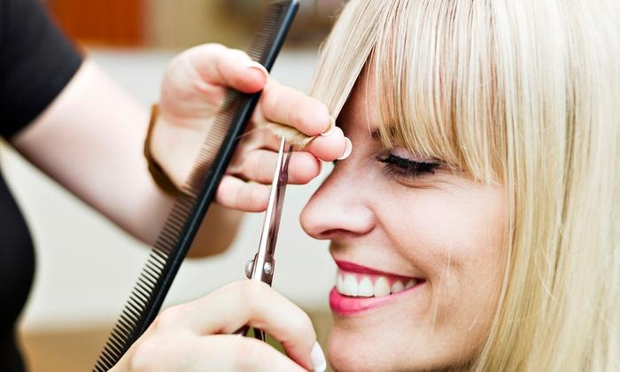 Amelia Gray Studio- Ashlynn Plummer - Brownsburg: Haircut Package at Amelia Gray Studio- Ashlynn Plummer (Up to 54% Off). Three Options Available.