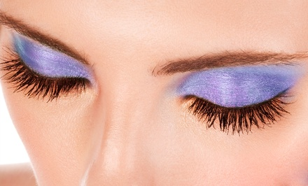 Full Set of Synthetic or Mink Eyelash Extensions at Belle Chic Studio Salon (Up to 56% Off)