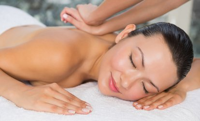image for 60-Minute Massage and 60-Minute Hydrating Facial for One or Two with Extra Discounts at The Sun Spa (Up To 67% Off)