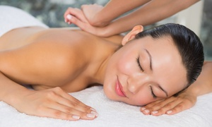 D'Essential Beauty Spa: Full Body Aromatherapy Massage from R105 for One with Optional Mani or Pedi at D'Essential Beauty Spa (Up to 69% Off)