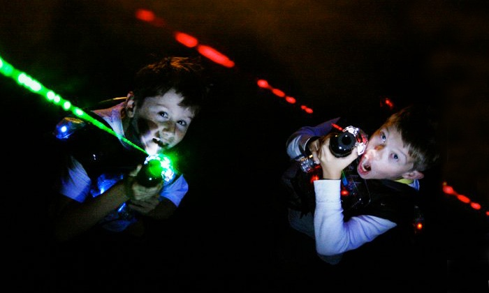 Lasertag of Carmichael - Vista Grande: $29.99 for a Punch Card Good for Ten Games of Laser Tag at Lasertag of Carmichael ($70 Value)