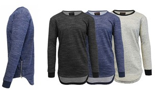 Men's Marled French Terry Pullover