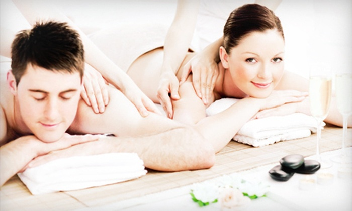 3 Graces Skincare and Spa - Allandale: Swedish, Hot-Stone, or Deep-Tissue Couples Massage at 3 Graces Skincare and Spa (Up to 51% Off)