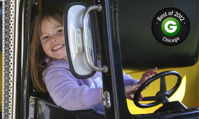 Santa's Village Azoosment Park - East Dundee: Amusement-Park Visit for Two or Four at Santa's Village Azoosment Park (Up to Half Off)