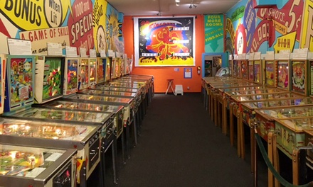 Single Adult Admission to the Pacific Pinball Musuem (25% Off). Two Options Available.