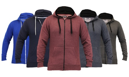 Men's Fleece Lined ZipThrough Hoodies for £9.98