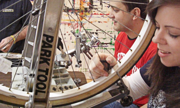 The Bicycle Guild - Oak Park: One Beginner, Intermediate, or Advanced Bike-Repair Class at The Bicycle Guild (50% Off)