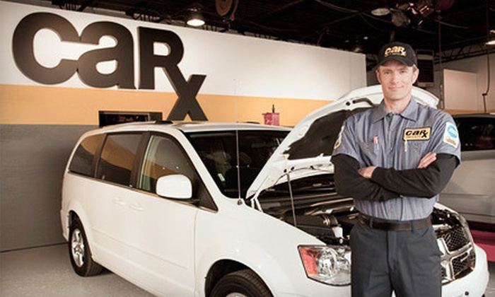 Car-X - Multiple Locations: Standard or Synthetic Oil Change with One Additional Service at Car-X (Up to 79% Off)