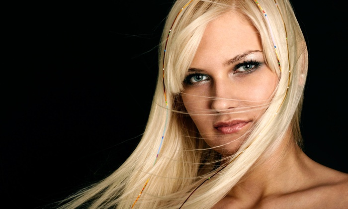 Sparkle Bar - Hanover: 10 Strands of Hair Tinsel, or 1, 2, or 3 Feather Extensions at Sparkle Bar (Up to 50% Off)