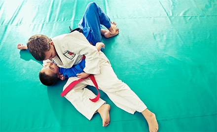 One or Three Months of Brazilian Jiu-Jitsu Classes for Adults or Kids at Athlete's Arena (Up to 63% Off)