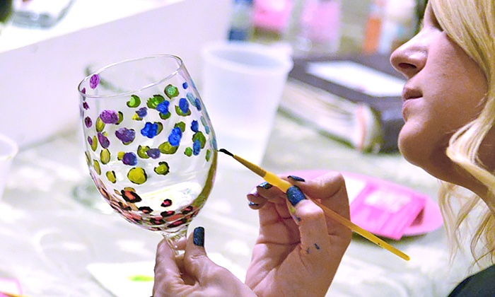 Drinkable Arts - Tampa Bay Area: Paint-and-Sip Event for One or Two from Drinkable Arts (50% Off)