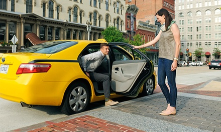 Taxi Fare Within the Chicagoland Area from Curb, Formerly Taxi Magic (Up to 85% Off). Two Options Available.