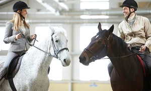 Middleton Riding Centre: One or Two Horse Riding Lessons at Middleton Riding Centre (Up to 57% Off)