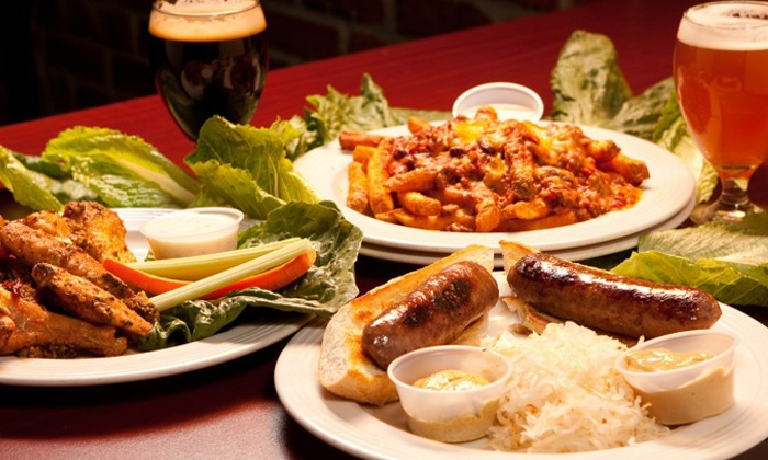 Aces and Ales Tenaya - Summerlin: Pub Food and Drinks at Aces and Ales Tenaya (Up to 53% Off). Four Options Available.