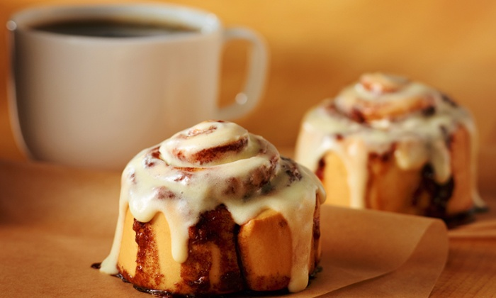Cinnabon - New River Valley Mall: $6 for $12 Worth of Desserts and Baked Treats at Cinnabon