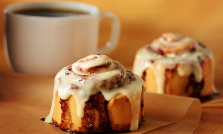 $6 for $12 Worth of Desserts and Baked Treats at Cinnabon