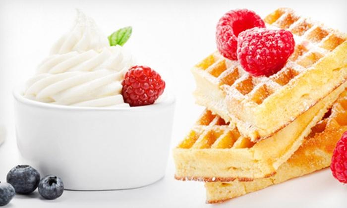Serenberry Frozen Yogurt - Multiple Locations: Frozen Yogurt, Smoothies, and Yogurt Parfaits at Serenberry Frozen Yogurt (Half Off). Two Options Available.