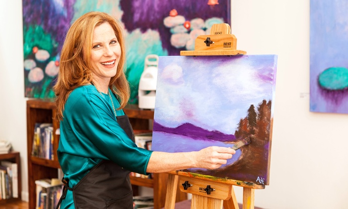 Stephen R. Hand Studios - Tarpon Springs: Three-Hour Canvas-Painting Class for One or Two at Stephen R. Hand Studios (Up to 56% Off)